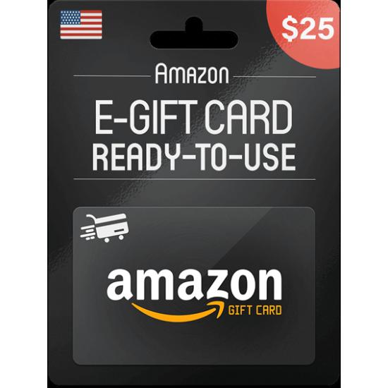 Amazon Gift Card 25 USD