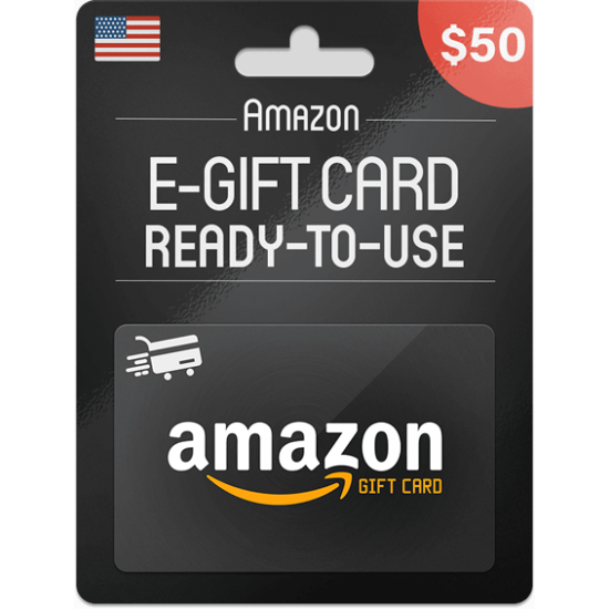 Amazon Gift Card 50 USD