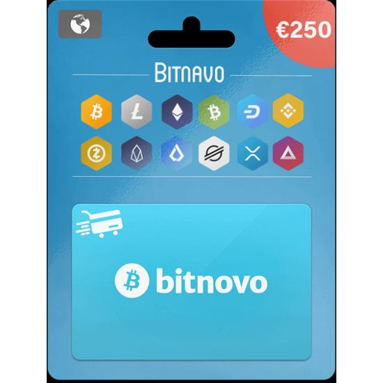 Bitnovo Voucher 250 EUR