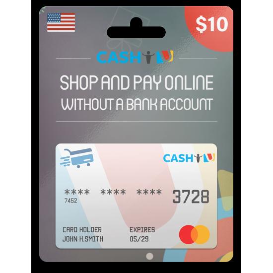 CASHU Gift Card 10 USD