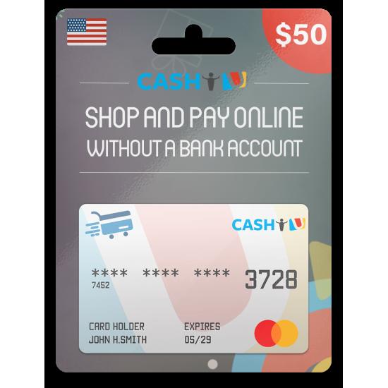 CASHU Gift Card 50 USD