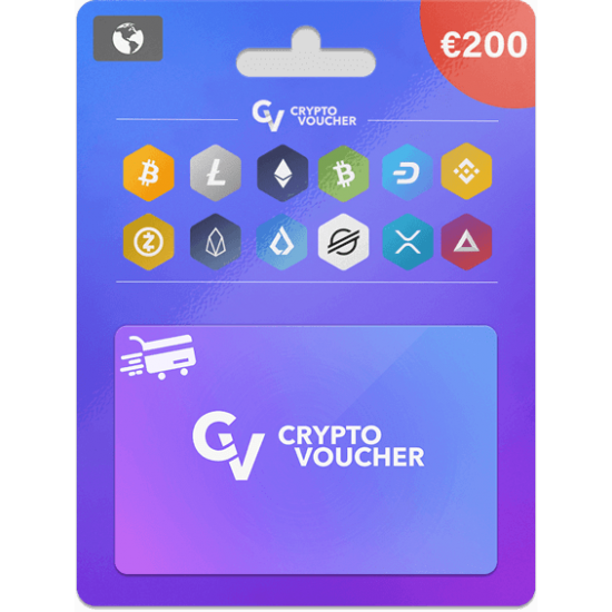 Crypto Voucher 200 EUR