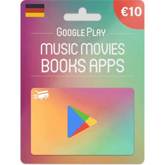 Google Play Gift Card 10 EUR