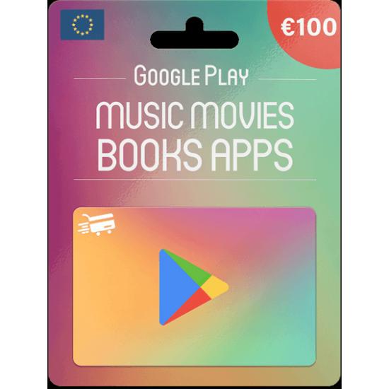 Google Play Gift Card 100 EUR