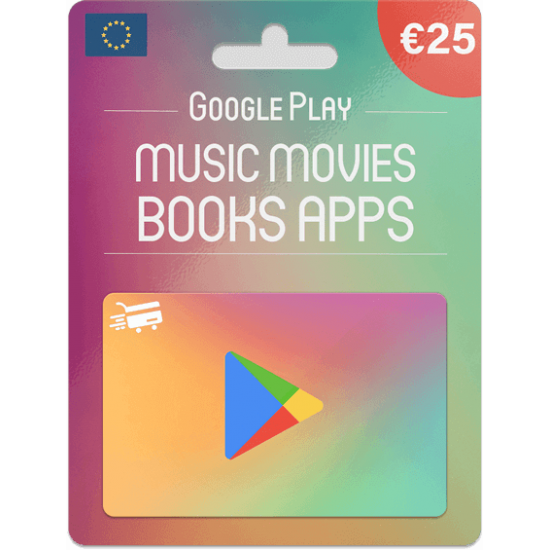 Google Play Gift Card 25 EUR