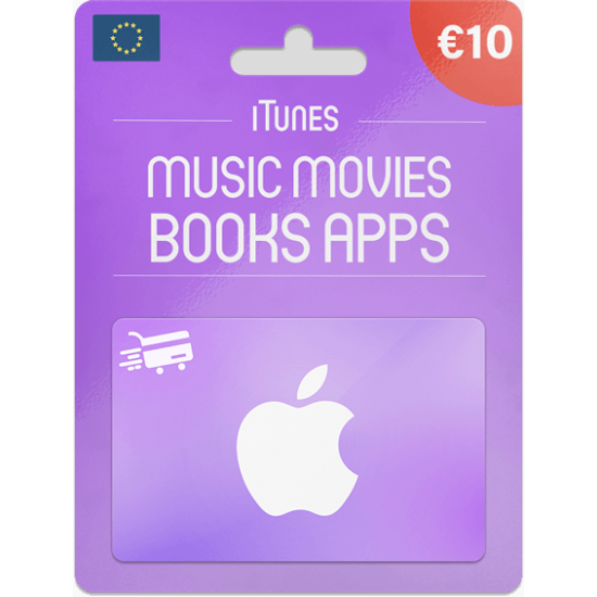 iTunes Gift Card 10 EUR