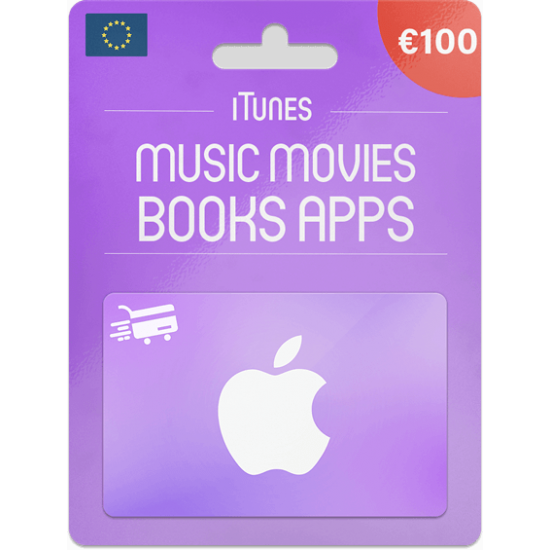 iTunes Gift Card 100 EUR