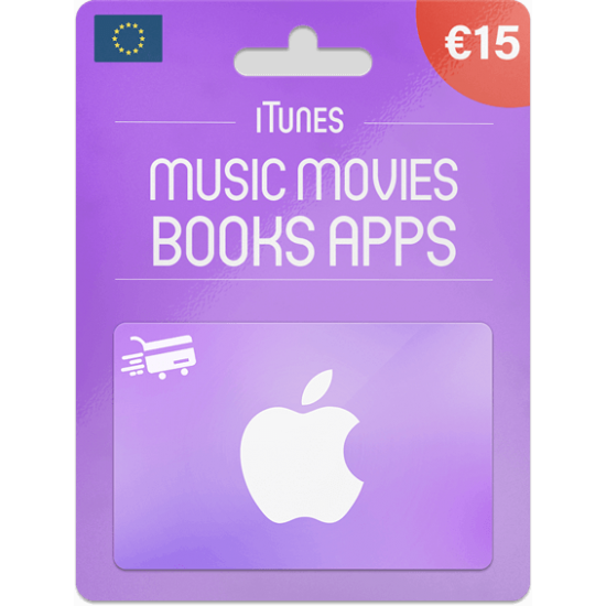 iTunes Gift Card 15 EUR