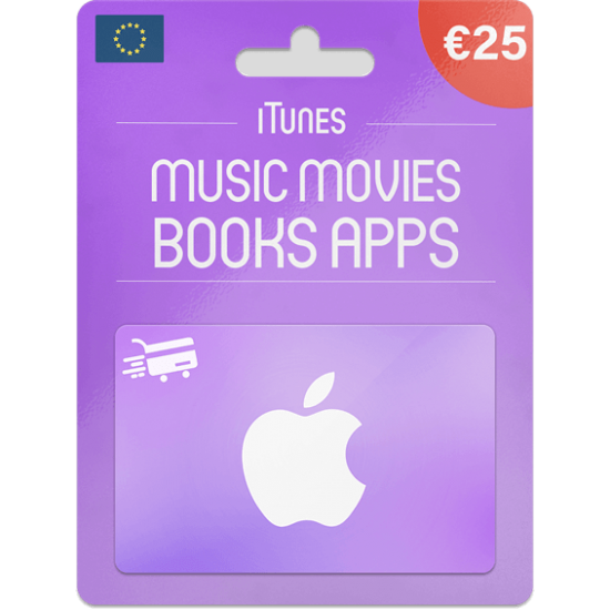 iTunes Gift Card 25 EUR