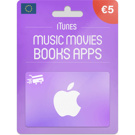 iTunes Gift Card 5 EUR