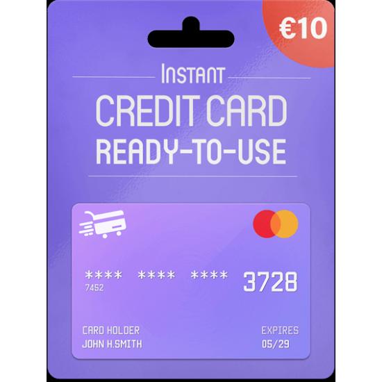 Prepaid Mastercard 10 EUR