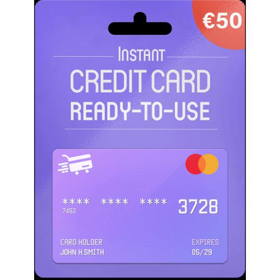 Prepaid Mastercard 50 EUR