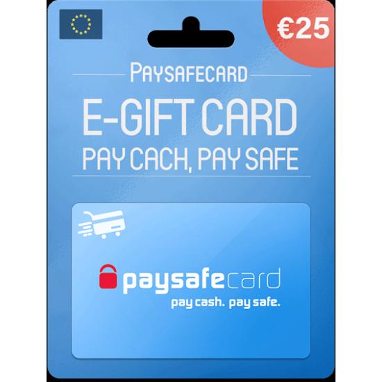 Paysafecard 25 EUR
