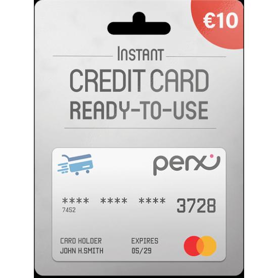 Perx Virtual Mastercard 10 EUR