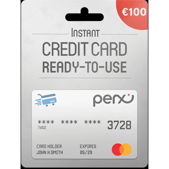 Perx Virtual Mastercard 100 EUR