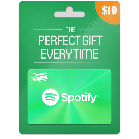 Spotify Gift Card 1 Month