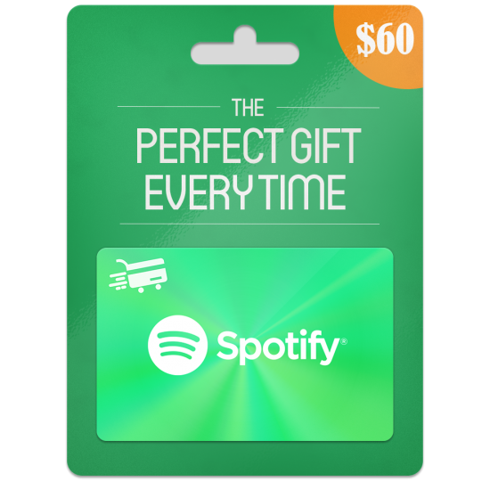 Spotify Gift Card 6 Months