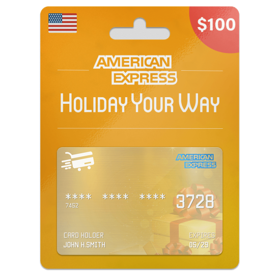 American Express Gift Card 100 USD