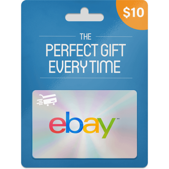 eBay Gift Card 10 USD