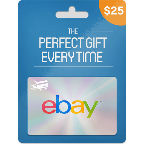 eBay Gift Card 25 USD