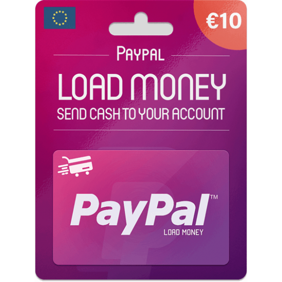 Paypal Gift Card 10 EUR