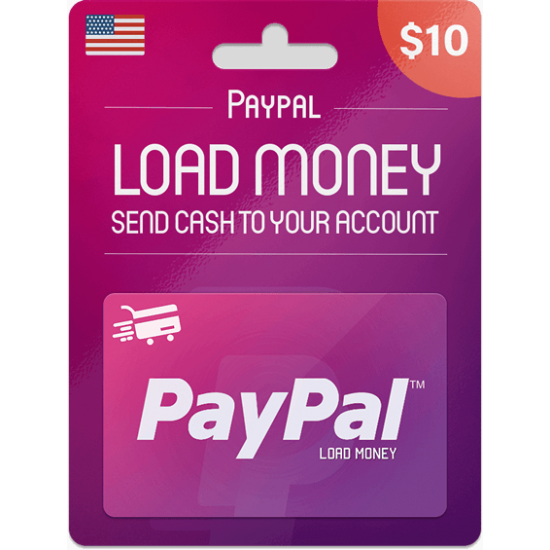 Paypal Gift Card 10 USD