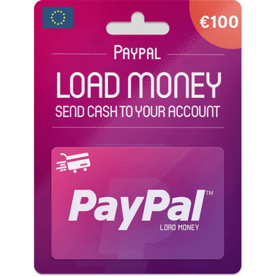 Paypal Gift Card 100 EUR