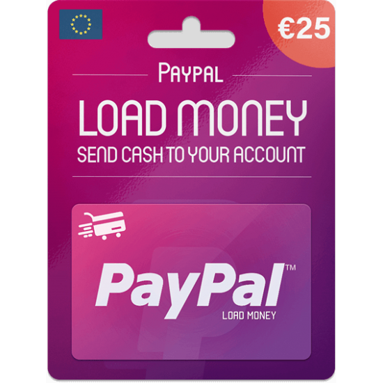 Paypal Gift Card 25 EUR