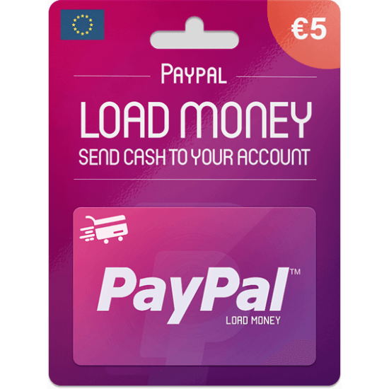 Paypal Gift Card 5 EUR