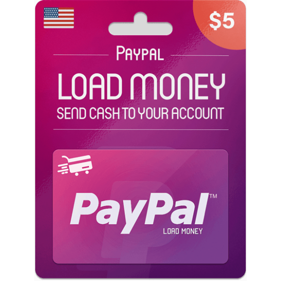 Paypal Gift Card 5 USD